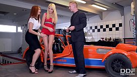 You're the Boss - Threesome with 2 Babes During Gumball 3000 xxx video