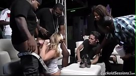 Brooke Wylde gets gangbanged...