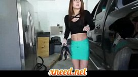 Hot Step Daughter Punished...