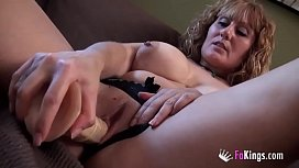 Great masturbation with busty...