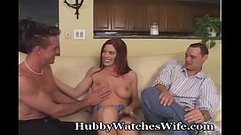 Hubby Shares Hot Redhead...
