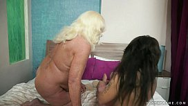 Hot granny and her...