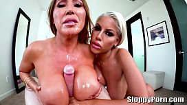 Amazing busty sluts Kianna Dior and Bridgette B.