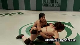 Babes strapon fucking after...