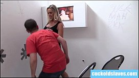 White boy is about to become a cuckold slave.