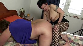 Free version - Granny slutty and greedy enjoys with her young virgin d.