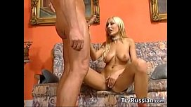 Blonde Russian Whore Doing...