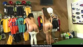 Sexy wild chick gets paid to fuck 8