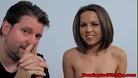 Dickriding euro submissive gets...