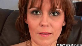 Natural milf pussy with...