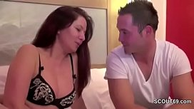 MILF Mother Seduce Young...