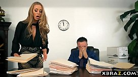New secretary blows and...