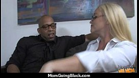 Hot Wild Mom with Big Tits gets Pounded by Black Cock 20