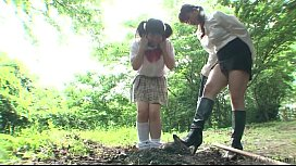 Subtitled Japanese principal outdoor...