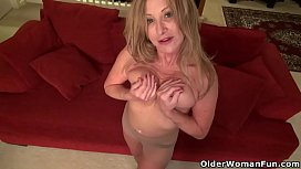Sexy milf Sally Steel...