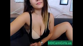 Beauty horny camgirl show her tits on cam - watch more at HDCamgirls.us