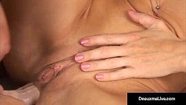 Horny Cougar Deauxma Gets Anal Pounded by Strapon & Squirts!