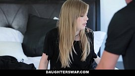 DaughterSwap - Gothic Sluts (Dolly Leigh) (Riley Nixon) Fucked By BFFS dad pt.1