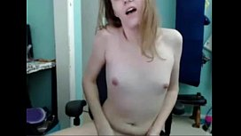 Shemale blonde webcam masturbation...
