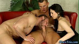 Bisex babe gets fucked...