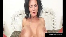 Green Eyed Mature Milf...