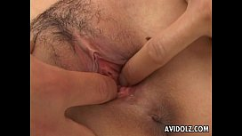 Sultry Asian whore has...