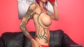 Anna Bell Peaks squirts...