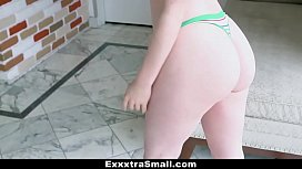 ExxxtraSmall - Small Petite Redhead Pogo On Fat Cock