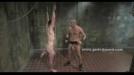 Teen slave gets collared...