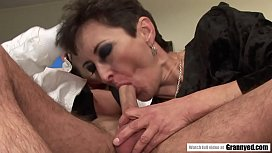 Unshaved granny pussy...