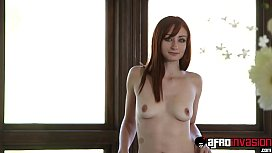 Redhead beauty dicked by...