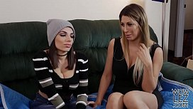Busty lesbos Darcie Dolce...