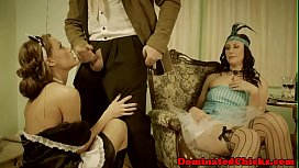 Submissive maid anally hardfucked...