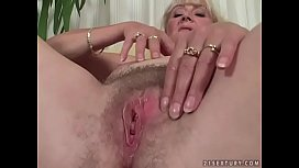 Busty mature lady and...