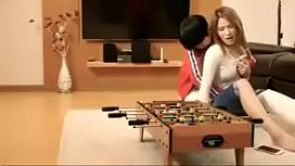 Asian fucked by her young brother