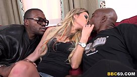 Alana Luv Tries Anal And DP with BBCs