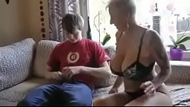 Busty step mom fucked...