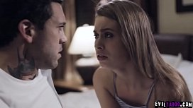 One day a brother discovers that his dad is screwing his stepsister Jill Kassidy! What happens after will freak you out!