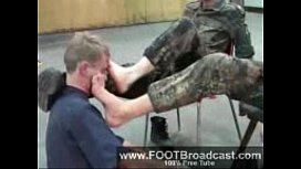 Soldier foot domination xnxx image