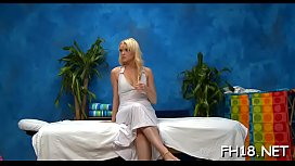 Tiny legal age teenager blonde hottie plays with fat stiff piece of meat