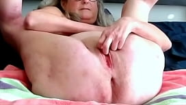 Horny Wife With A Wet Shaved Pussy Fingers Masturbates