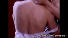 Two curvy bitches in vintage threesome scene