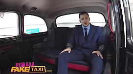 Female Fake Taxi Pilot...
