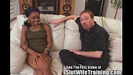 Hot Black Wife Trained...