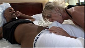 Mature milf taking a...