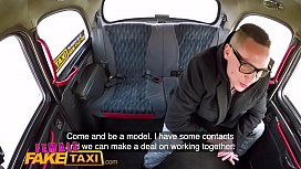 Female Fake Taxi Bored...