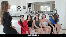 Dyked- Hot Teen Orgy With Sexy Milf