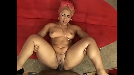 Big booty ebony babe Pinky with natural tits gets nailed hard by black hunk