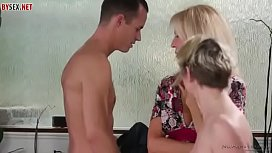 Taboo Mom and son with mom'_s girlfriend - milfdream.blogspot.com