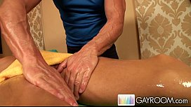 Oily Deep Anal Massage...